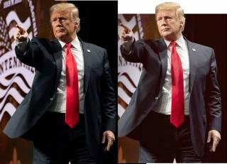 Трамп на своих фотографиях в соцсетях убирает живот, морщины и даже удлиняет пальцы, – СМИ