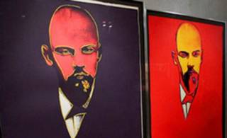 Два «кислотных» портрета Ленина кисти легендарного американского художника пустили с молотка