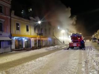 В столице сгорел очередной ресторан. Чудом удалось избежать взрыва