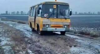На Одесщине дети каждый день рискуют жизнью, добираясь в школу на автобусе
