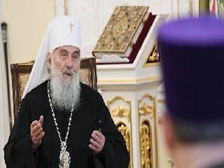 Сербский Патриарх сравнил происходящее с Церковью в Украине с брошенной в дом бомбой