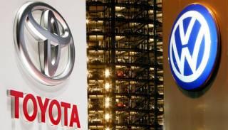 Toyota против Volkswagen: назван мировой автомобильный лидер