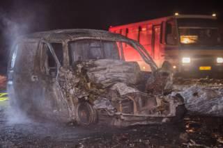 Страшное ДТП под Днепром: водитель легковушки сгорел заживо (18+)
