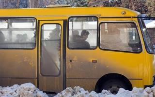 В суровом Николаеве у маршрутки на ходу отвалился руль