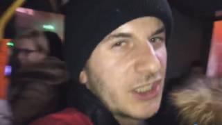 В Киеве неадекватный кондуктор набросился на женщину с ребенком