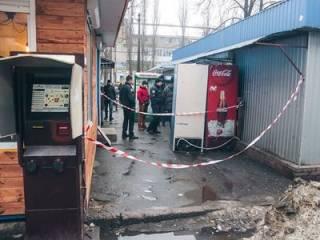 В Киеве малолетний ребенок прямо на улице получил пулю в глаз