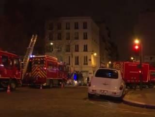 Пожар в Париже: восемь человек погибли, десятки пострадавших