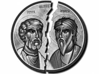 Великая схизма 1054 года:  как поссорились кардинал Гумберт и патриарх Кируларий