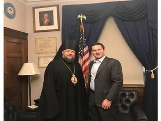 Стало известно, о чем говорил епископ УПЦ с конгрессменами США