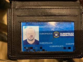 У подозреваемого в организации убийства «Сармата» при задержании нашли удостоверение Европола