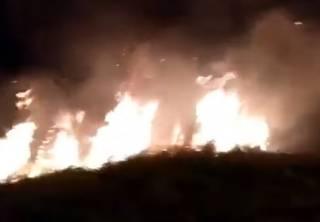 Упавший в Венесуэле метеорит спровоцировал впечатляющий пожар