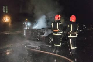 В Киеве депутату горсовета от «Свободы» сожгли статусный автомобиль