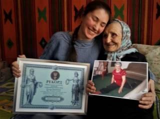 93-летняя украинка установила уникальный спортивный рекорд