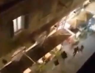 В Риме футбольные хулиганы устроили кровавую бойню на ножах