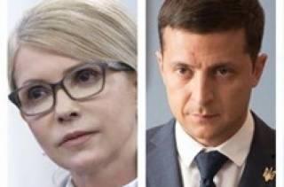 Выборы президента: лидируют Зеленский и Тимошенко