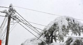 Непогода погрузила во мрак 84 населенных пункта