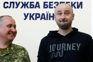Журналист Аркадий Бабченко стал жертвой искусных воров