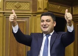 Как оказалось, за январь премьер Гройсман заработал всего тысячу евро
