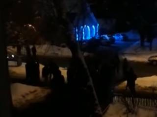 Возле одного из московских ресторанов подрались более ста человек