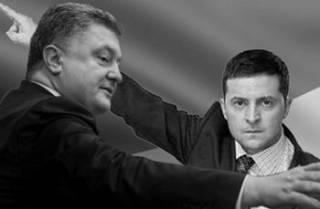 Украина между клоуном и барыгой