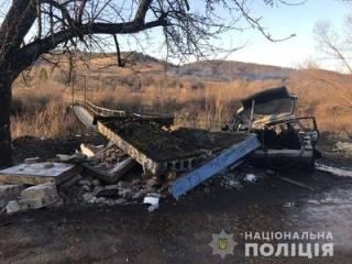 На Львовщине легковушка разнесла «в хлам» блок-пост пограничников ‒ есть жертвы