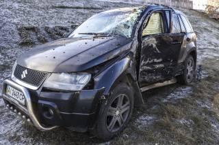 В ДТП на Броварском проспекте попали сразу семь автомобилей. В Сети появилось видео