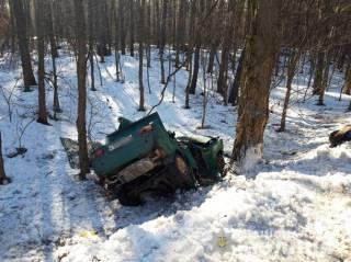 Под Киевом из-за плохой дороги произошло ДТП с двумя жертвами