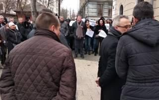 Пока коллектив Одесского медуниверситета митингует в Киеве, рейдеры снова пытаются захватить его здание