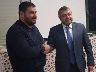 В Киеве состоялась встреча нового посла Армении c главой Союза армян Украины