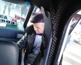 На Одесщине водитель маршрутки обзывает участников АТО «халявщиками» и нападает на них