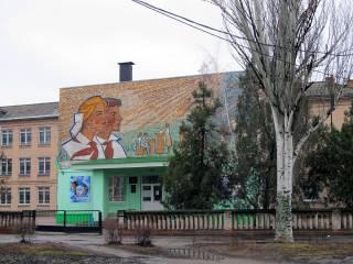 В Мелитополе затопило школу, но детей домой не отпустили
