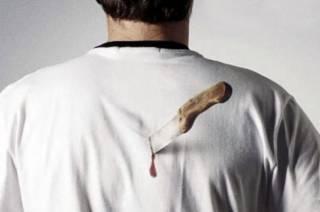 Пьяный россиянин решил выйти на перекур с ножом в спине