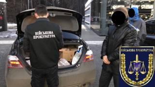 На Кировоградщине огромную взятку чиновнику привезли в багажнике автомобиля