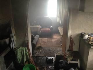 Покурив, в Конотопе сгорели три человека