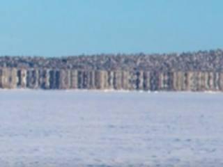 Финские пограничники заметили странный остров-призрак, который появился из ниоткуда
