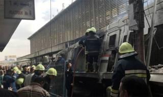 Названа причина крушения поезда в Каире