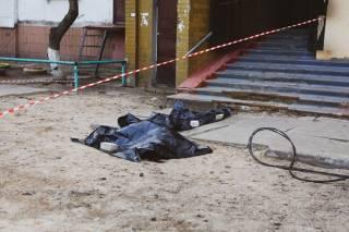 На окраине Киева трагически погиб молодой боец Нацгавардии (18+)