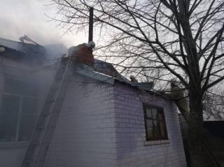 На Днепропетровщине ни с того ни с сего загорелся детский садик