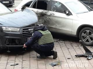 Появились подробности подрыва автомобиля в Киеве