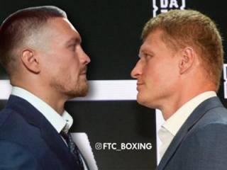 Промоутер подтвердил, что Усик и Поветкин выйдут в ринг 18 мая. Но есть нюанс
