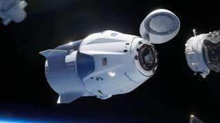 Ракета Илона Маска впервые пристыковалась к МКС. Это не на шутку встревожило россиян