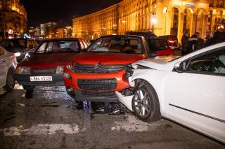 На Майдане в Киеве произошло грандиозное ДТП