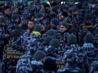 В Черкассах уже вовсю «пакуют» членов Нацкорпуса. Жителей города призывают готовиться к «мобилизации»