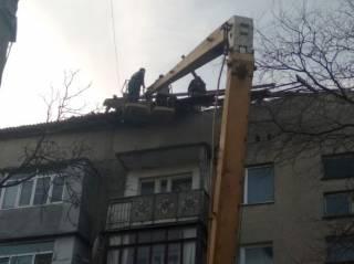 На Одесщине ураганный ветер сорвал крышу с жилого дома