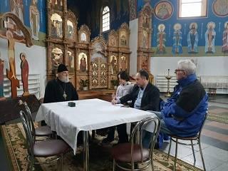 Овручский митрополит УПЦ рассказал представителям ОБСЕ о нарушениях прав верующих в регионе