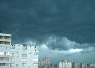 На Киев надвигается мощный ураган
