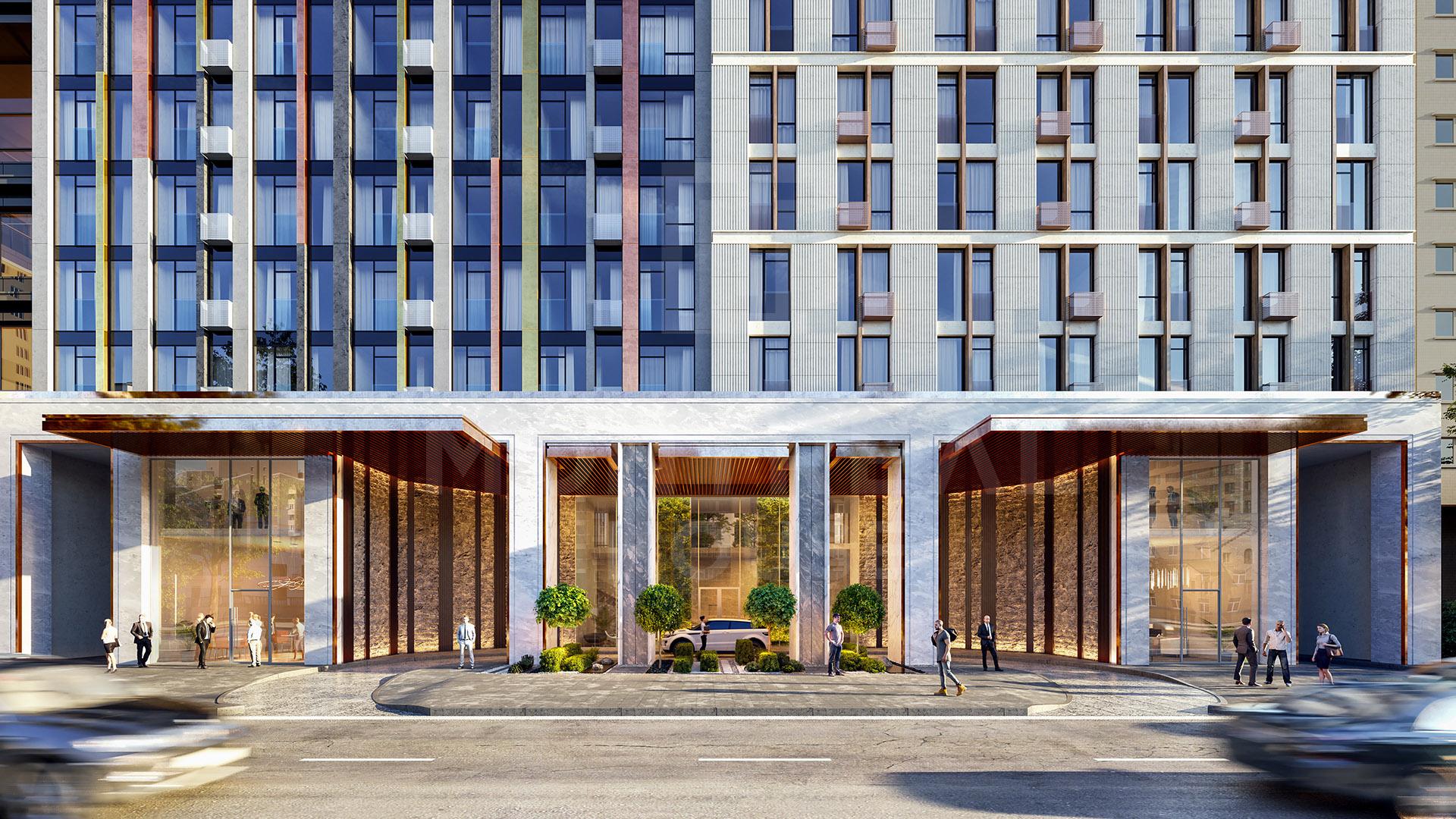 Отражение духа времени в современной архитектуре столицы в ЖК «Монреаль»
