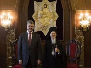 СМИ: В обмен на Томос Порошенко поможет Константинополю получить недвижимость в Украине