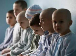 Количество больных раком детей в Украине стремительно растет