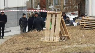 В Киеве у ворот церкви обнаружен труп сотрудника Администрации президента